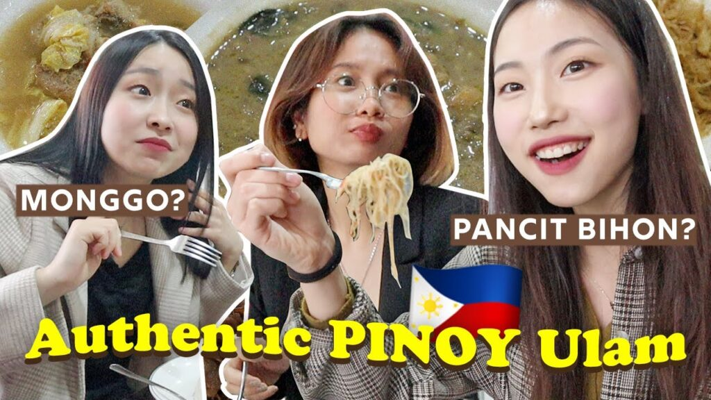24 Hours of Only FILIPINO Food in Korea pt.1