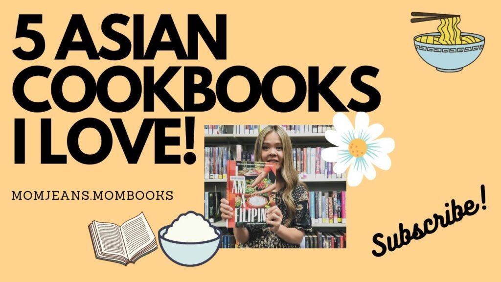 5 ASIAN COOKBOOKS I LOVE!