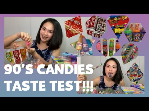 EPISODE 1: TRYING FILIPINO CANDIES FROM THE 2000s (THROWBACK) 👧🏻👦🏻🍭 | JULIA ONG