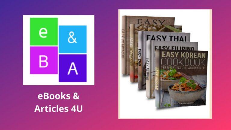 Easy Asian Cookbooks: Korean, Filipino, Thai, Indonesian, Vietnamese Cookbooks by Chef Maggie Chow