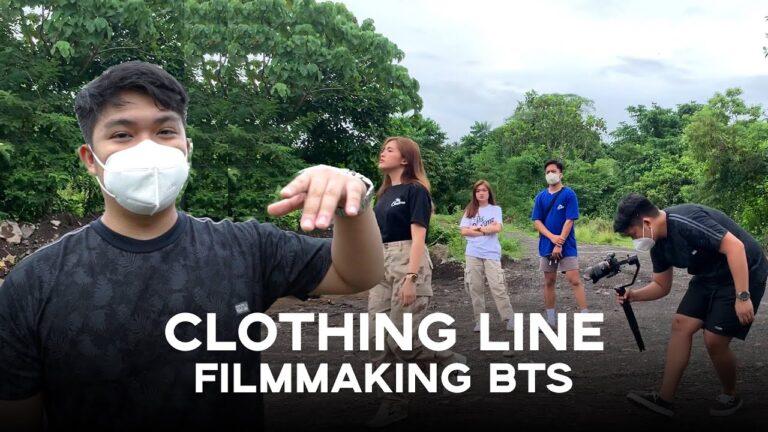 FILIPINO FILMMAKER SHOOTS CLOTHING LINE (VLOG!)   Vrylle