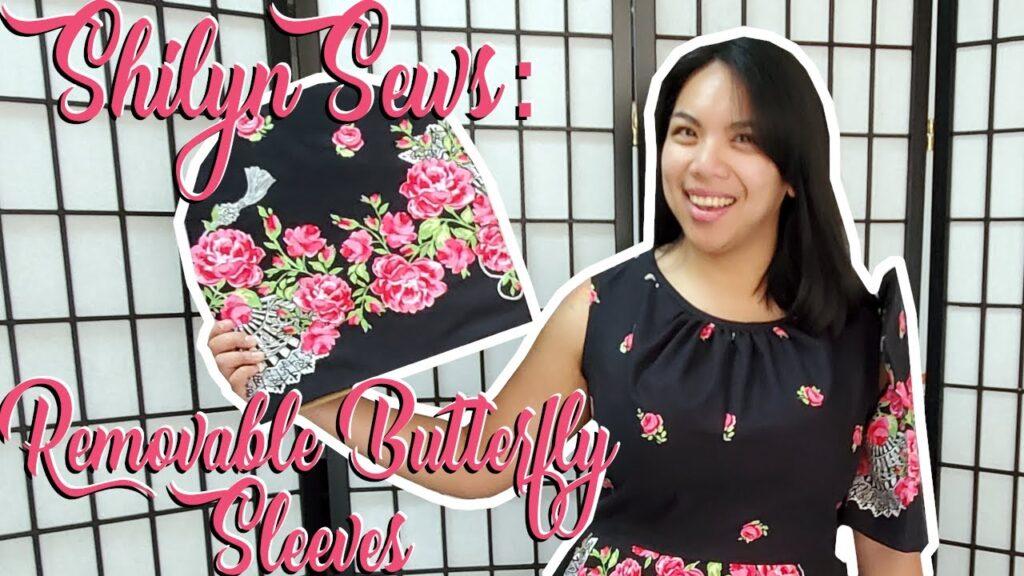 Filipino Friday: Drafting and Sewing the Butterfly / Filipiniana Sleeves