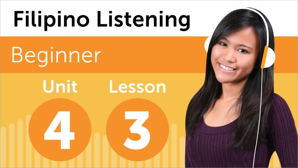 Filipino Listening Practice – Renting a DVD in The Philippines