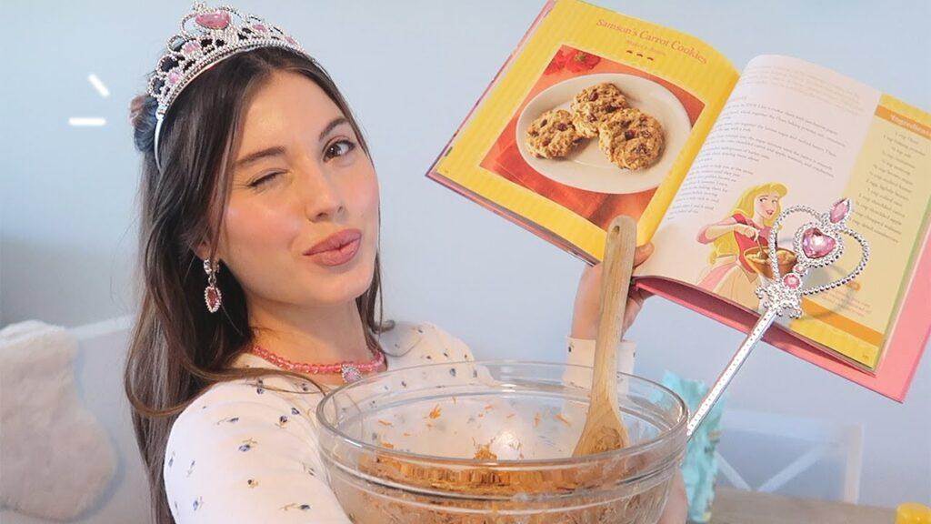 I made a 3 course meal following a Disney Princess Cookbook!