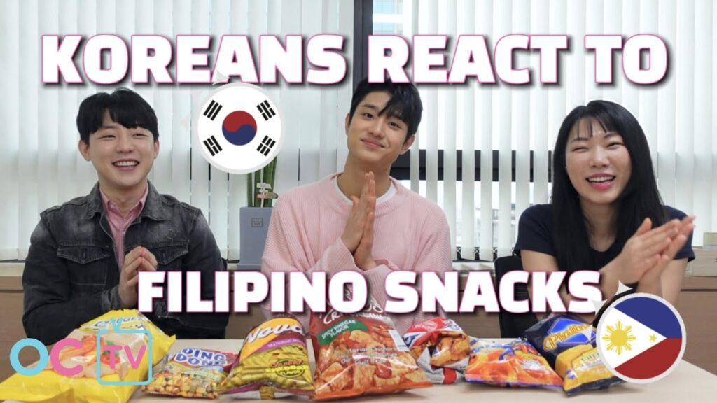 KOREANS REACT TO FILIPINO SNACKS ft. Jaewon Kim (김재원), Big Boss (김요한), Jessie (제씨) [ENG SUB]