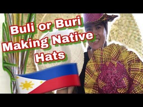 Making Native Filipino Hats |