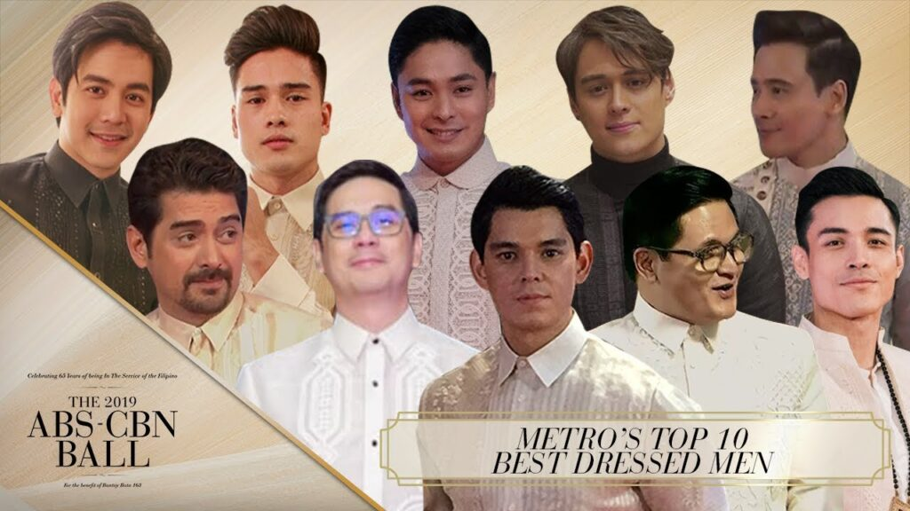 Metro's Top 10 Best Dressed Men | ABS-CBN Ball 2019