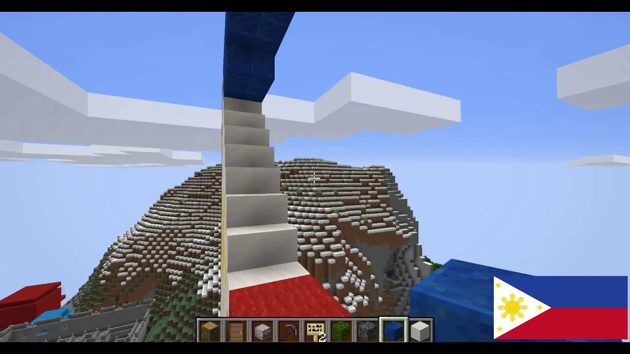 Minecraft Builds - How To Build The Philippines Flag
