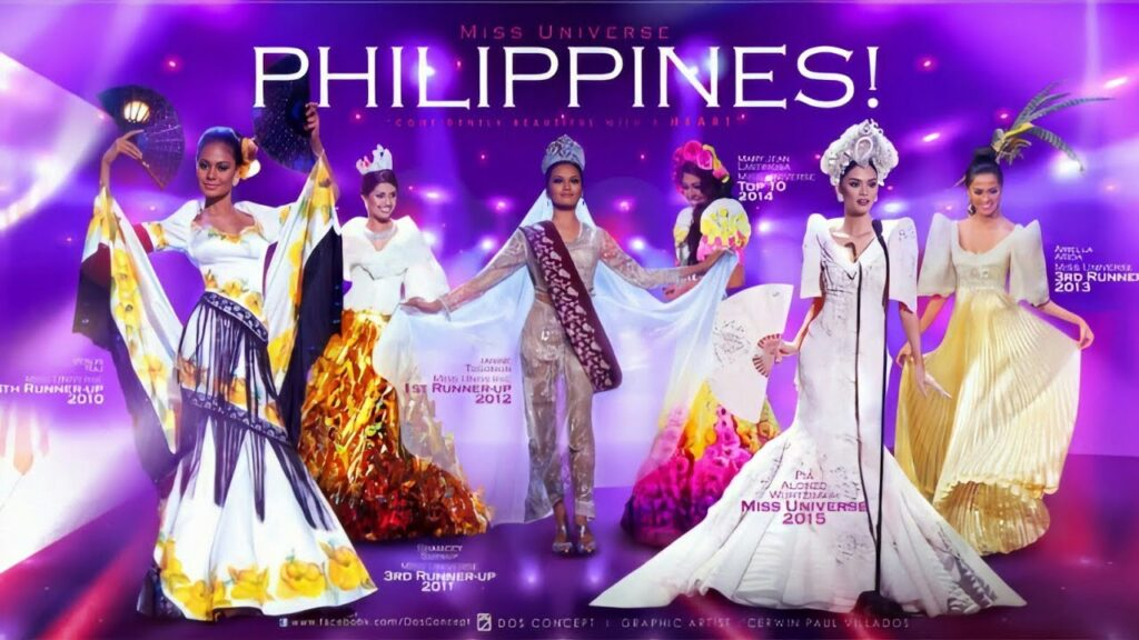 NATIONAL COSTUME – MISS UNIVERSE PHILIPPINES (2008 – 2019)