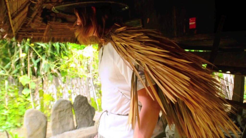 Native Filipino Rain Coat & Hat