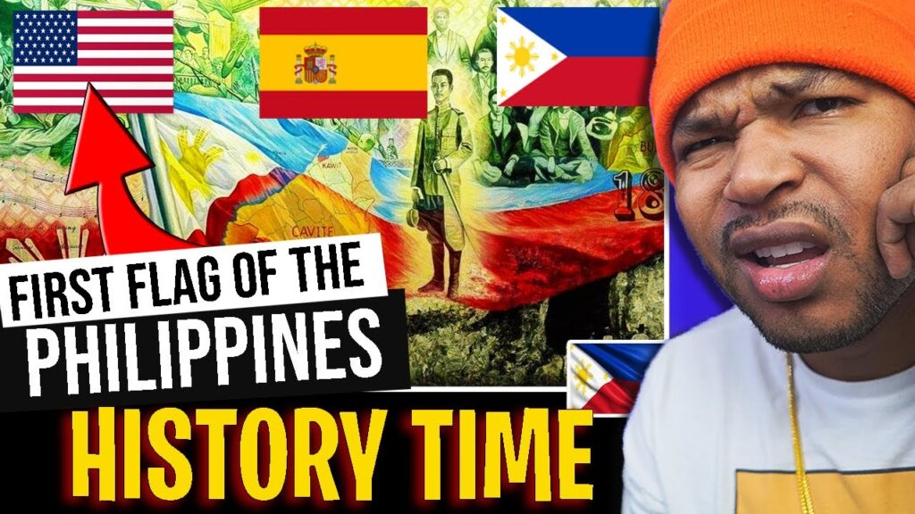 PHILIPPINES used the AMERICAN FLAG? History of the Filipino Flag