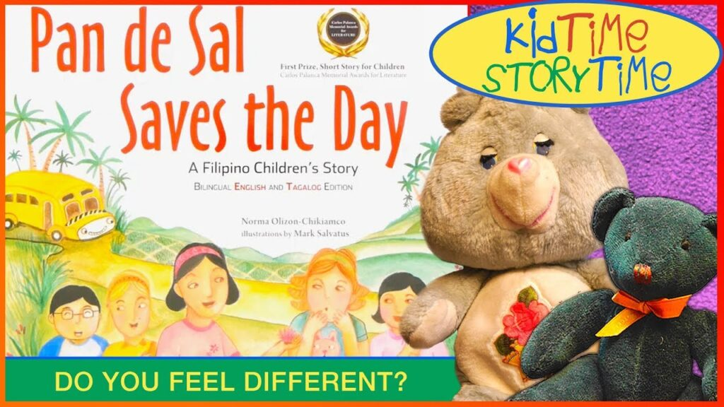 Pan de Sal Saves the Day | A Filipino Kids Books READ ALOUD! (in English w/Tagalog text, too!)
