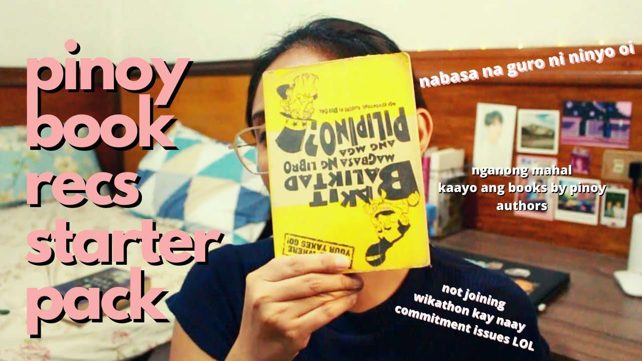 Pinoy booktuber recommends Pinoy books | (kinda) Wikathon