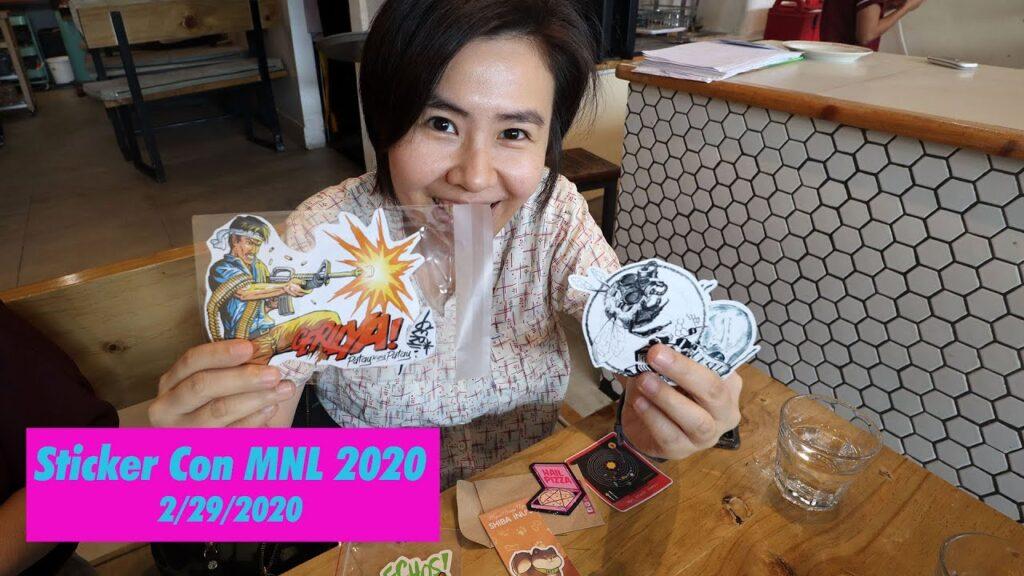 Sticker Con MNL 2020 (sticker enthusiasts' convention)