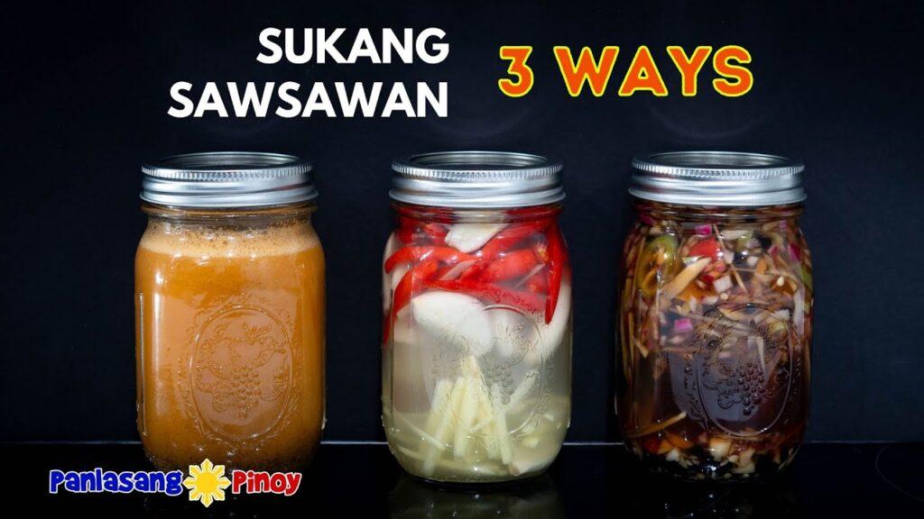 Sukang Sawsawan in 3 Ways | How to Make Spiced Vinegar Dipping Sauce