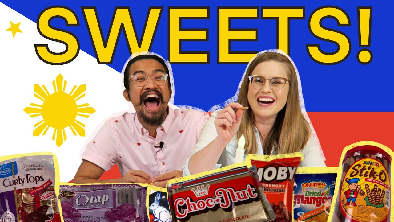 ✨🇵🇭 TRYING FILIPINO CANDY & SWEETS | What is the best Filipino Sweet (Choconut!? Stick-Os!?)✨🇵🇭