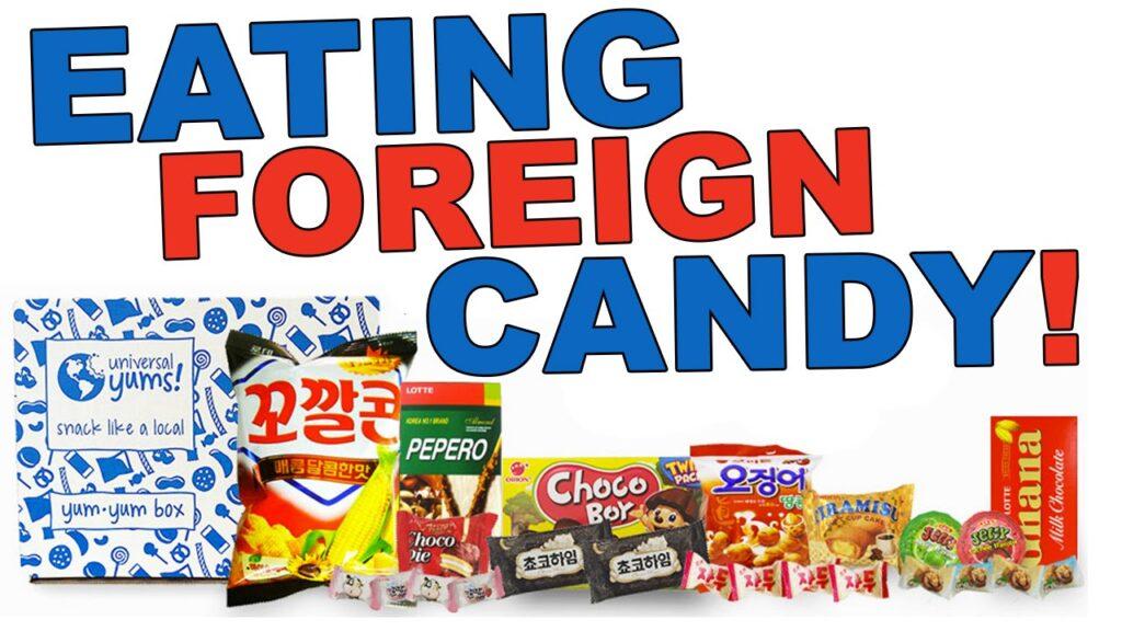 Trying WEIRD Filipino Candy!
