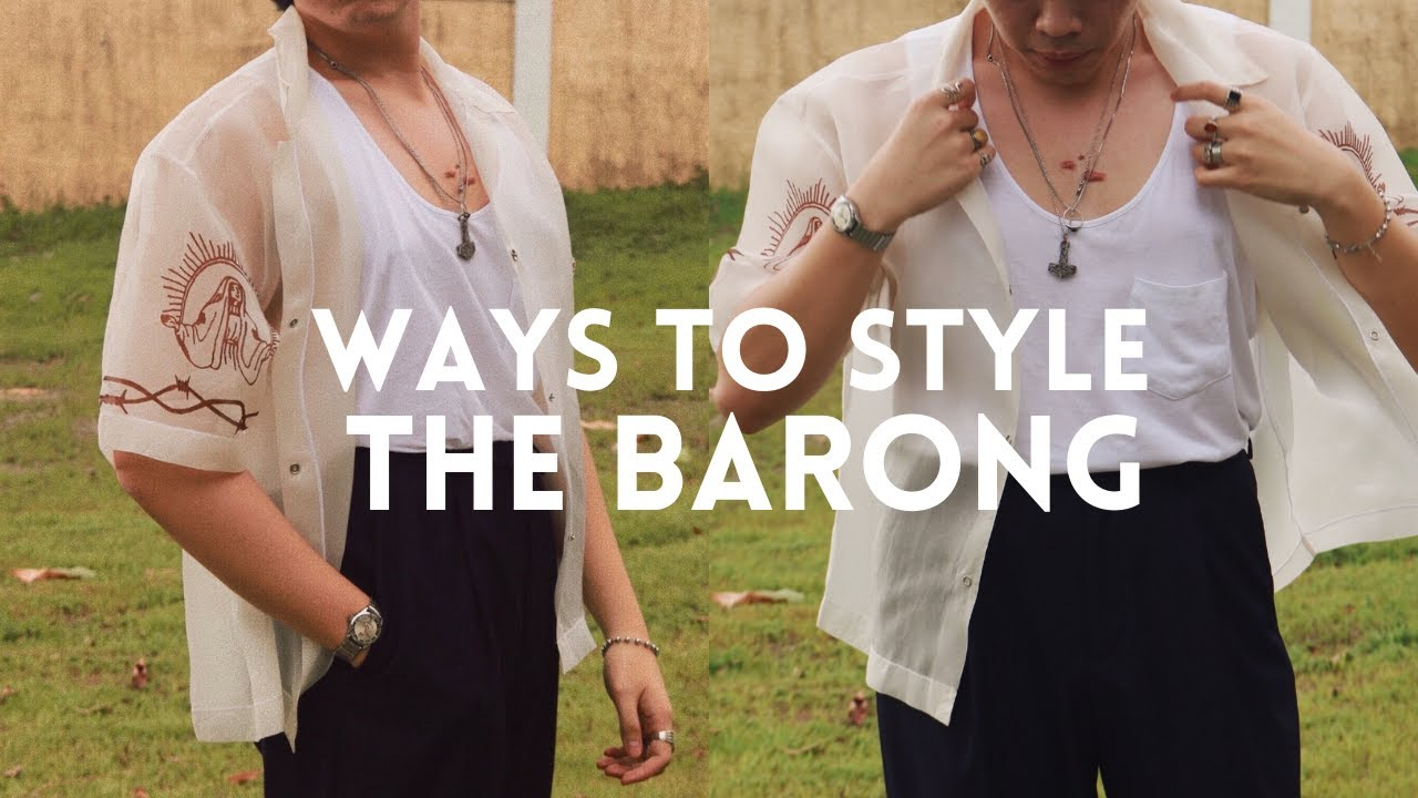 Ways To Style: A Barong??? | 5 Outfits
