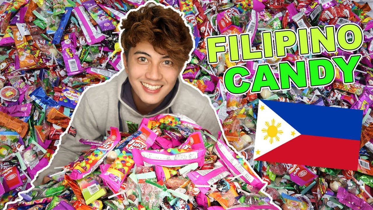 trying not famous filipino candy 🍬🍭🇵🇭